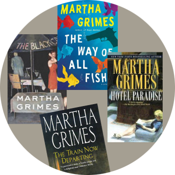 Martha Grimes novels Bob Bender Design