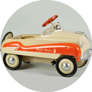 1956 Murray Peddle Car Bob Bender Design